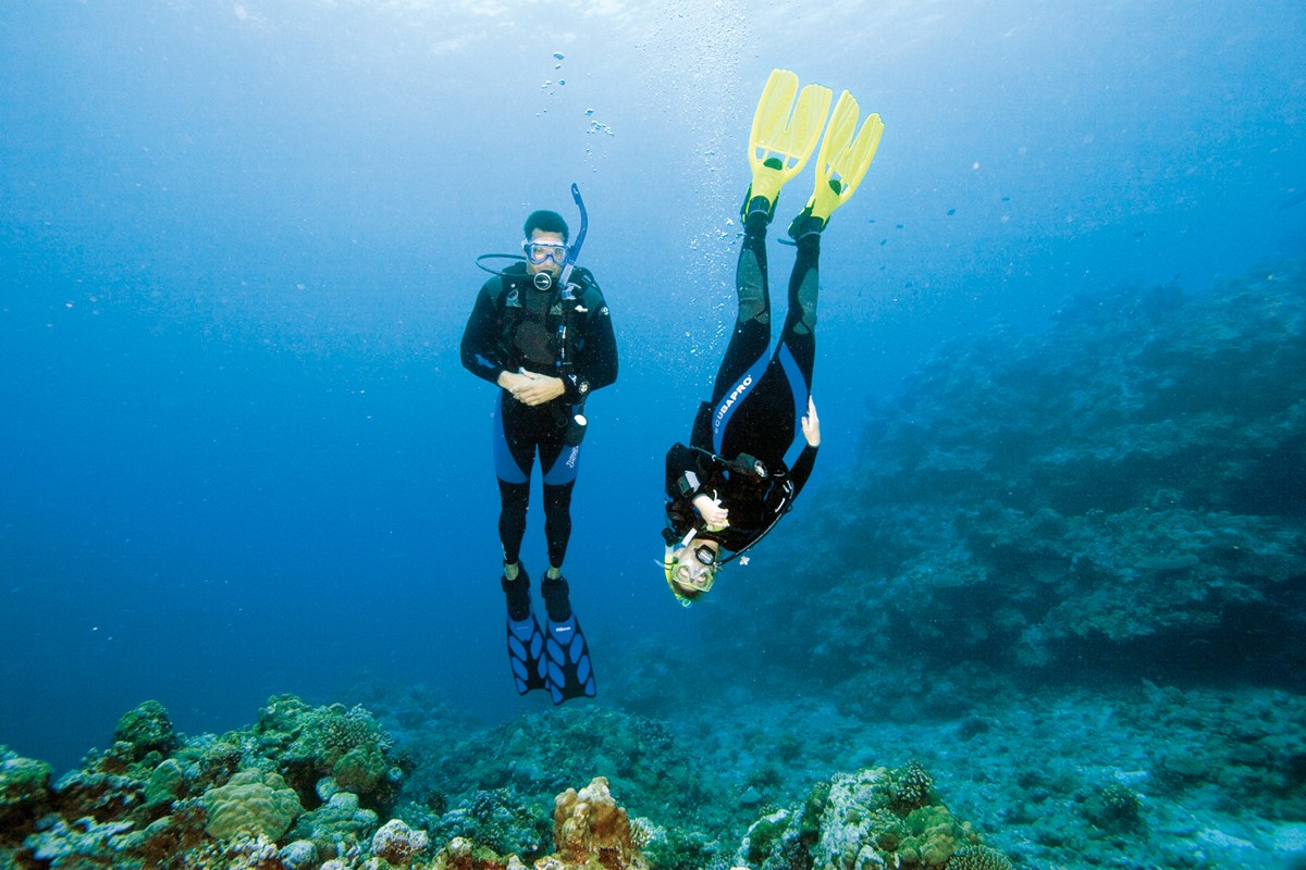 Get your scuba diving buoyancy just right and scuba dive with confidence