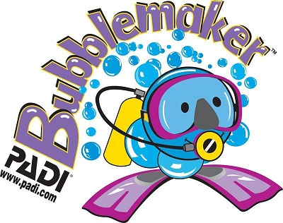 childrens try scuba diving sessions, padi bubblemaker