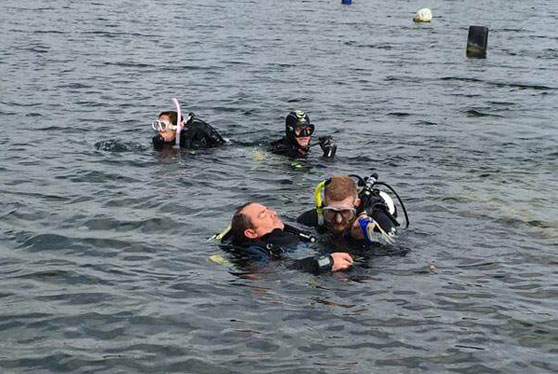 Advanced training courses in Scuba Diving